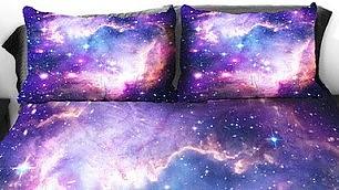 Dormire nella galassia la natura entra nel letto