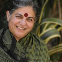 "Vandana Shiva: ""I'm a pain in the neck for the GMO industry.  They want to discredit me, but I will continue to fight""."