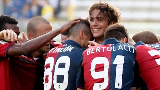 Parma-Genoa 1-2: decide Matri all'ultimo respiro, ducali in crisi