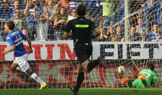 Samp-Atalanta 1-0: Gabbiadini ancora decisivo, blucerchiati al terzo posto