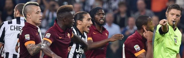 Juve batte Roma 3-2, rigori e veleni -    foto