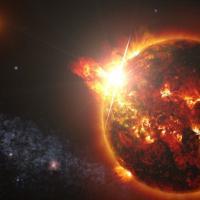 """La super-tempesta stellare della """"piccola"""" nana rossa"""