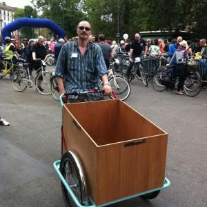 In Italia nasce una cargo-bike e il trasporto passa su tre ruote