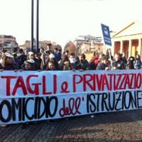 """Non è una #BuonaScuola"", studenti in piazza il 10 ottobre contro la riforma"