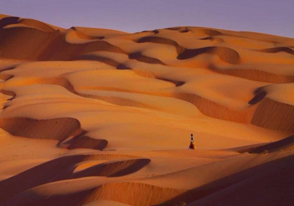 La mappatura del deserto: Google usa un dromedario