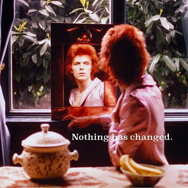 """""""Nothing has changed"""", David Bowie in copertina"""