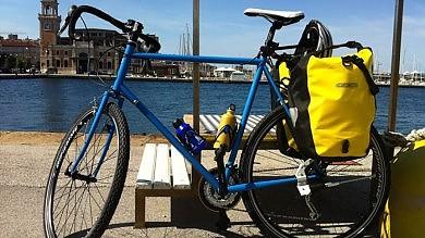 La sfida del biologo ciclista: 1500 chilometri in bici contro il cambiamento climatico   Foto