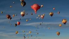 Time-lapse: New Mexico, il più grande raduno di mongolfiere