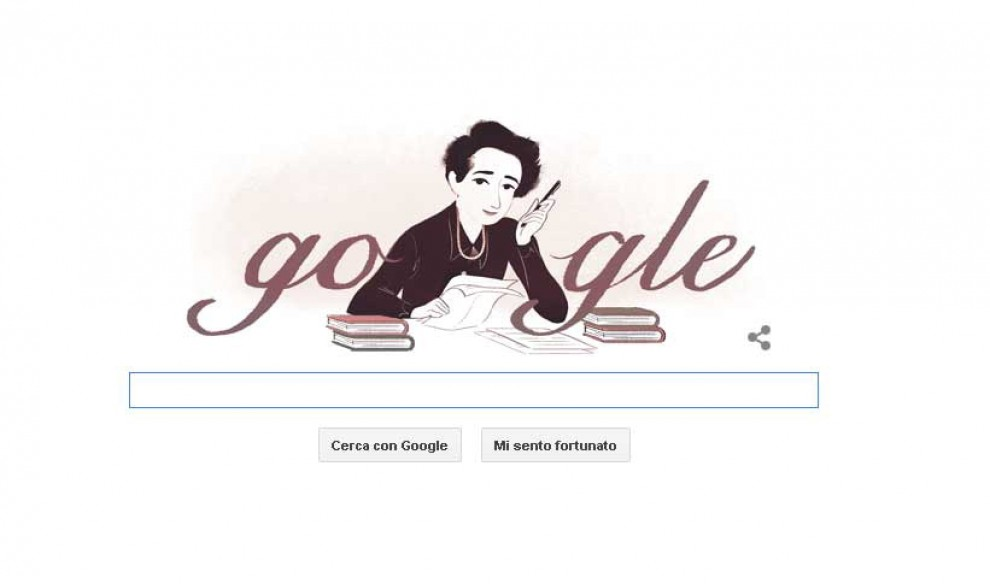 Hannah Arendt sui libri: così Google celebra la filosofa