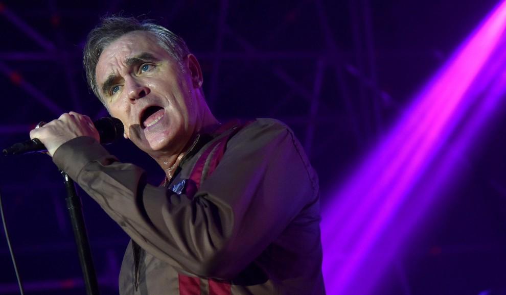 Morrissey a Roma, il menù al suo show è solo per vegetariani