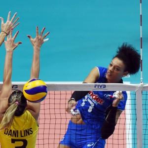 """Volley, l'Italia ai piedi di Valentina Diouf: """"Peccato per il podio, ma io penso già a Rio"""""""