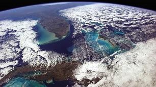 Gli scatti dell'astronauta dallo spazio: Voi siete qui