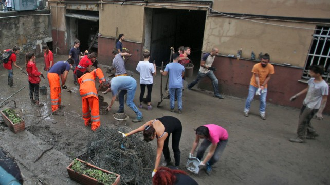 Genova 2014, l'alluvione di ottobre