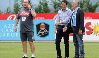 """Napoli, armonia ritrovata; De Laurentiis: """"Ho fatto i complimenti a Benitez"""""""