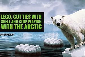 Greenpeace, la campagna contro la partnership Lego-Shell