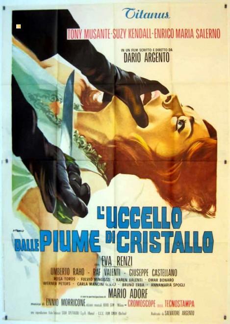 Super Dario Argento, maestro dell'horror: le locandine dei film - la NQ76