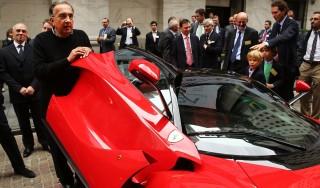 """Ferrari, Marchionne vuole un cambio di marcia: """"E' ora di sbaragliare la concorrenza"""""""