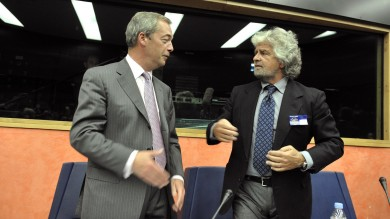 Strasburgo, salta gruppo con M5s e Ukip