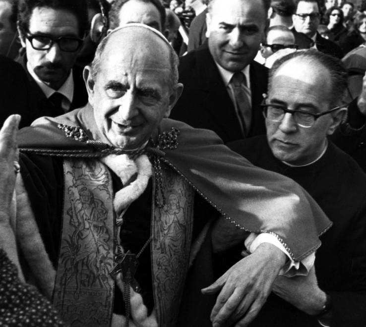 Paolo VI, la fotostoria del pontificato