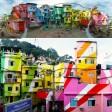 Ridono anche i muri I palazzi più allegri e colorati
