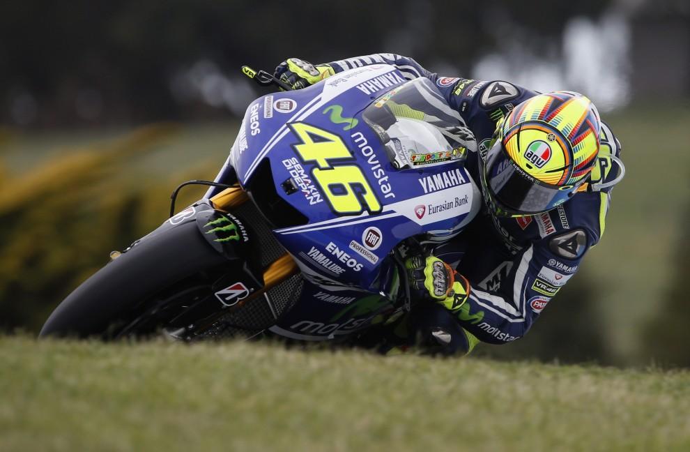 MotoGp: Rossi domina, primo al Gp d'Australia - Repubblica.it