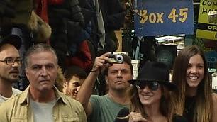 Da New York a via Sannio Sarah Jessica Parker al mercato    Mr. Big: ''Carrie? Troppi amanti''