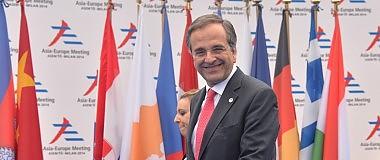 """Grecia rassicura sull'austerity  """"Fine solo con ok della Troika"""""""