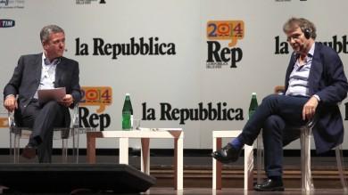 RepIdee  Palermo    Pennac-Mauro  -   foto   portare i giovani oltre il presente   video