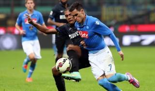 Inter-Napoli 2-2: Callejon illude gli azzurri, Hernanes salva Mazzarri