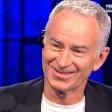 Clerici intervista McEnroe è show a 'Che tempo che fa'