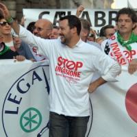 """Salvini: """"La Padania libera è inutile se chiudono le fabbriche. Ora la Lega parla a..."""