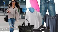 Il look della settimana: jeans e scarpe da uomo