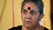 """Vandana Shiva: """"Ogm più cari dei prodotti bio""""   La videointervista"""