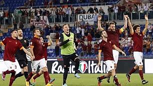 """Incredibile, stadio pieno Roma-Bayern da 3 mln   Garcia:  """"Indimenticabile""""    Guardiola:  """"Spettacolo"""""""
