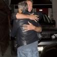 Clooney, single una notte Cena con l'amico del cuore