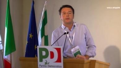 Renzi alla direzione democratica   'Venite a Leopolda, no struttura parallela'