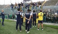 Ghirardi spegne le polemiche   foto   ''Confronto civile tra tifosi e squadra''