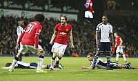 Blind salva il Manchester United ma è solo pari con il Wba