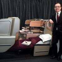 Dormire al decollo, Qantas' airways presenta la nuova business class