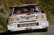 La storia della 205 Turbo 16 Peugeot ad Auto e Moto d'Epoca