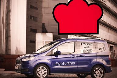 Ford e Foodie Geek Dinner, a tutta … tavola