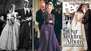 Morto Oscar de La Renta lo stilista che vestì il potere    Foto -  Ultima creazione per Amal