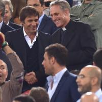 Roma-Bayern, in tribuna anche Padre Georg