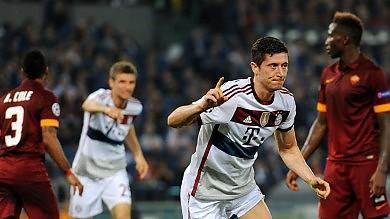 Roma travolta dal Bayern    foto     La diretta: 0-5