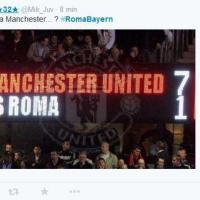 Roma-Bayern Monaco, i 100 tweet imperdibili