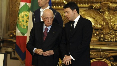 Consulta:  Renzi, offerta ai 5 Stelle   Legge Stabilità,  dubbi di Colle e Ue