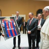 """Bayern, i complimenti del Papa: """"Avete giocato una partita meravigliosa"""""""