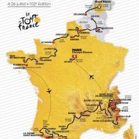 Ciclismo, svelato il Tour de France 2015