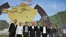 """Ecco il nuovo Tour -   foto   molte salite, poche crono Nibali: """"Mi piace"""""""