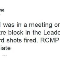 Attacco ad Ottawa: i tweet dei membri del Parlamento chiusi nel palazzo